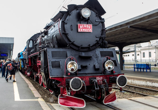 Pociąg Blues Express 2016