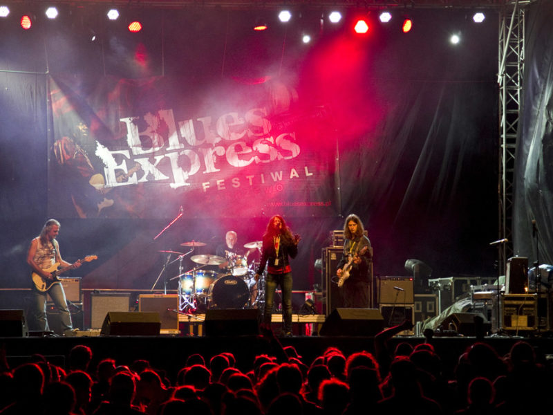 Koncerty Blues Express 2016