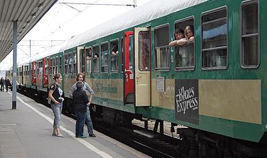 Rozkład jazdy pociągu Blues Express 2018