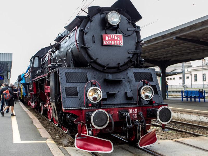 Pociąg Blues Express 2016
